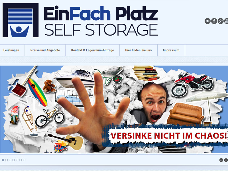 EinFach Platz – Selfstorage