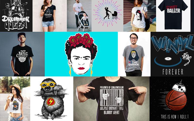 teecha –  Creative Shirt Designs